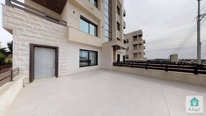 شقة أرضية في مرج الحمام مساحتها180متر داخلي ،الشقه جديده لم تسكن بسعر مغري مغري 130الف وقابل للتفاوض