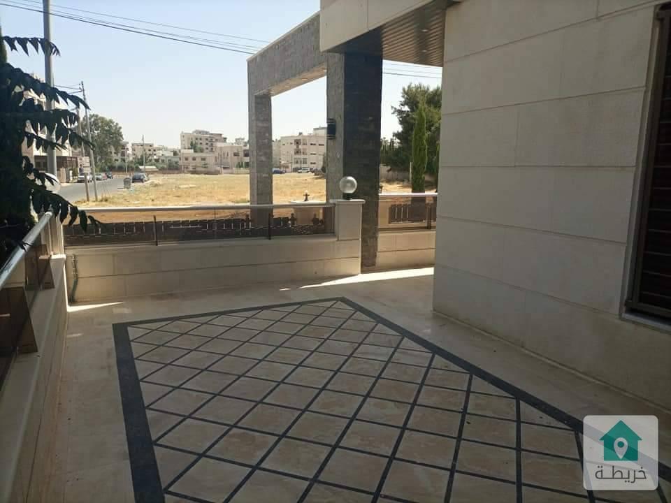 شقة ارضية في مرج الحمام مساحتها ١٩٠ اسكان عاليه ، للبيع بسعر مغري ١٤٠ الف