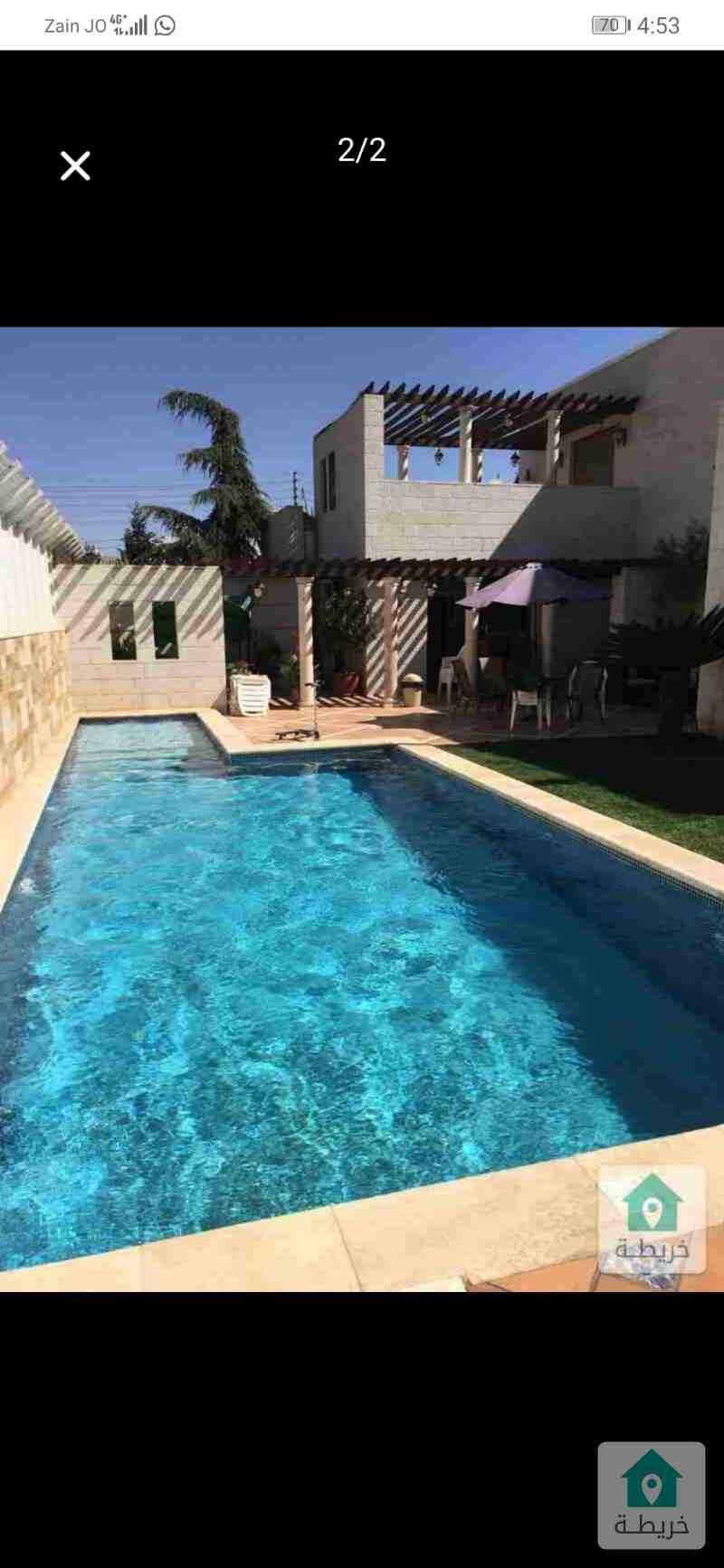 فيلا مستقل للبيع في دابوق بلقرب من قصر زياد المناصير