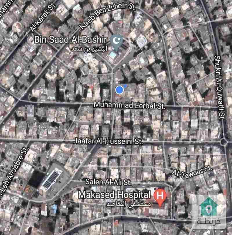 عمان / حي نزال - منطقة الجبل الأخضر ، بجانب مسجد البشير بن سعد (عمارة التقوى)