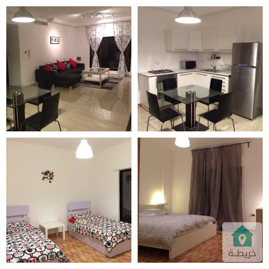 شقة مفروشة للايجار في منطقة السابع بالقرب من كوزمو Furnished apartment for rent near COZMO 7th
