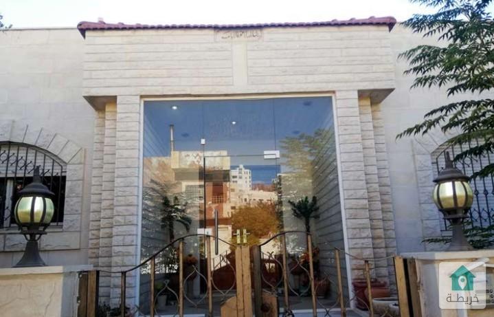 بيت مستقل للبيع باطلالة بانورامية جميلة مكون من 3 طوابق /مرج الحمام ام عريجات