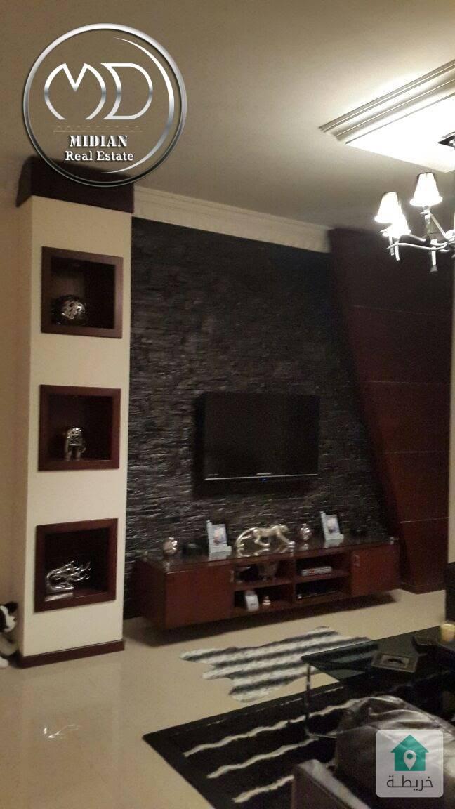 شقة مفروشة للايجار السابع مساحة 110م طابق ثاني بسعر مناسب